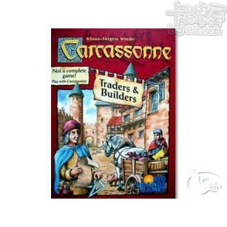 Carcassonne: Traders & Builders 卡卡頌:小豬擴充