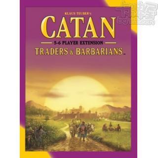Catan: Traders & Barbarians 卡坦島野蠻人5-6人擴充(新版)