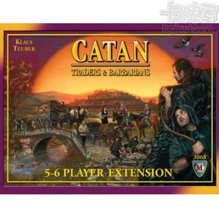 The Settlers of Catan: Traders & Barbarians – 5-6 Player Extension (卡坦島商人與野蠻人5-6人擴充)【舊版】