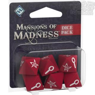 Mansions of Madness: 2nd Edition – Dice Pack